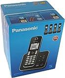 Panasonic KX-TGD325EB Quintet Digital Cordless Phone with Answering Machine
