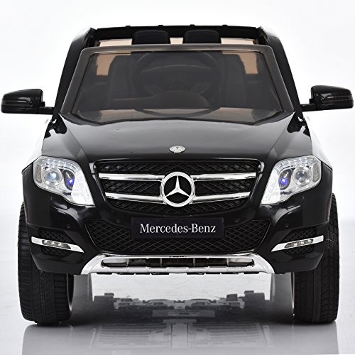 GLK300 Mercedes Benz Lizenz Fahrzeug Kinder Elektro Auto Cabrio inklusive Fernbedienung Schwarz