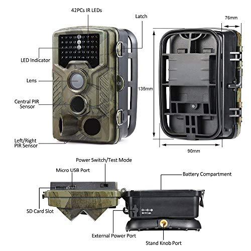 Zoom IMG-2 rtofo fotocamera caccia coolife 16mp