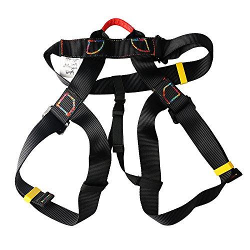 Arnés resistente para el aire libre, asiento, pecho, sentado, escalada, escalada en roca, equipamiento para rappell