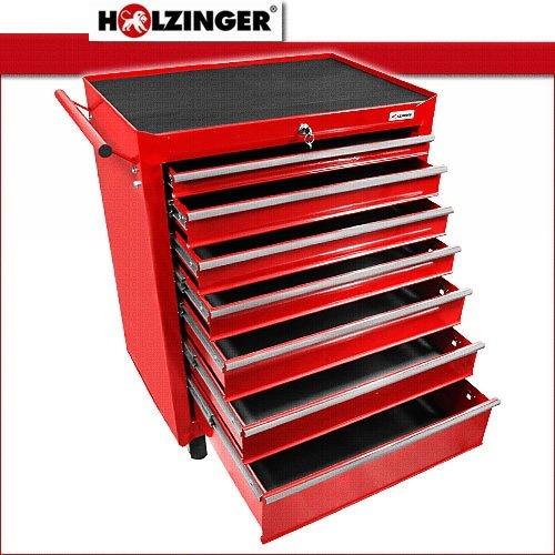 Holzinger Werkzeugwagen HWW1007KG - schwere Ausführung (7 Schubfächer) - 2