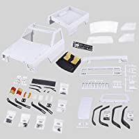 Erduo AX-313B 12.3inch/313mm Wheelbase Pickup Body Shell DIY Kit for 1/10 RC Truck Crawler Axial SCX10 & SCX10 II 90046 90047 - Compare prices on radiocontrollers.eu