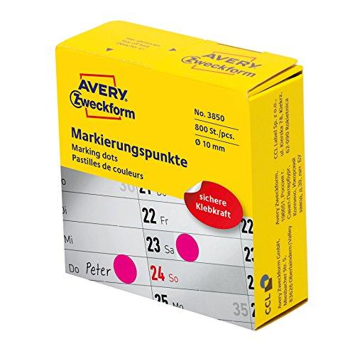 Avery Zweckform etichetta 8mm contrassegno punto MG, 800ST, 800 Pezzi