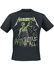 Metallica ... And Justice For All - Vintage T-shirt noir