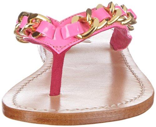 Mystique 1713, Sandali infradito donna Rosa (Pink (neon pink/gold))