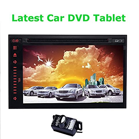 VCD Capacitive Multi Touch screen USB/SD Car Video Player with Backup Camera VCD Included 7 inch Car Android GPS Player Navigation Navigator Tablet Car DVR LCD A9 1.2GHZ Android 4.2 Free GPS Deck Map Card Antenna Car DVD Player In-Dash FM AM Radio Car Radio PC Motors Phone Mirroring Multicolor lights Aux Ipod USB SD Transmitter Support OBD Capactive Touch Screen Rear Review Camera Stereo Car Radio Stereo Bluetooth CD