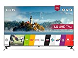 LG 43UJ651V 43 Inch SMART 4K Ultra HD HDR LED TV Freeview Play USB Record, (Certified Refurbished)