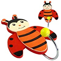 Childrens Ladybird Coat Hooks (2 Pack)