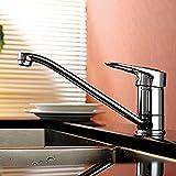 Grifo grifo del fregadero de agua fría cocina cubeta llena de cobre verduras calientes y lavabo especial