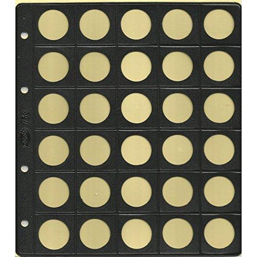 Funda 30 Monedas 25 MM Diámetro 753 Pardo Pte 10-Unidades