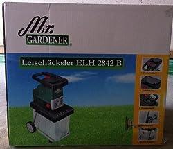 Mr. Gardener ELEKTRO LEISEHÄCKSLER GHS 2842B incl. Box