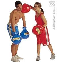 Guantes de boxeo - inflables - adultos de disfraces - Rojo