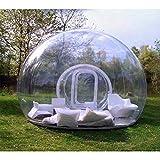 ZAOYUE Tente TenteTransparente TransparenteGonflable de Bulle deTunnel...