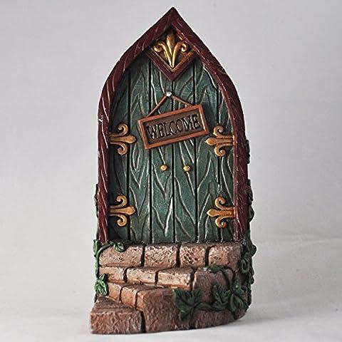 Pixie, Elf, Fairy Door - Tree Garden Home Decor -