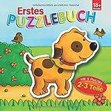 Erstes Puzzlebuch Hund: 5 Puzzles mit je 2-3 Teilen