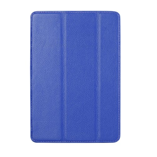 Melkco APMNRELCSC1DBLC Slimme Cover Type Premium Leder Case für Apple iPad Mini Retina dunkelblau