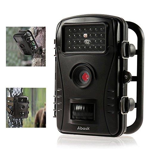 Caméra de Chasse,ABASK Caméra Animaux de Surveillance Imperméable Infrarouge avec 2.4
