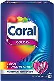 Coral Pulver Color+ Vollwaschmittel 32 WL 2er Pack (2 x 16 WL)