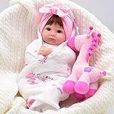 CYdoll 40cm Simulation Puppe Spielzeug Realistische Newborn Baby Doll Real Touch Dummy