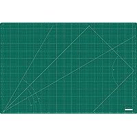 Base de corte grande 90x60 cm ( A1 ) milimetrada en CENTÍMETROS y PULGADAS, auto cicatrizante de alta calidad- Kadusi