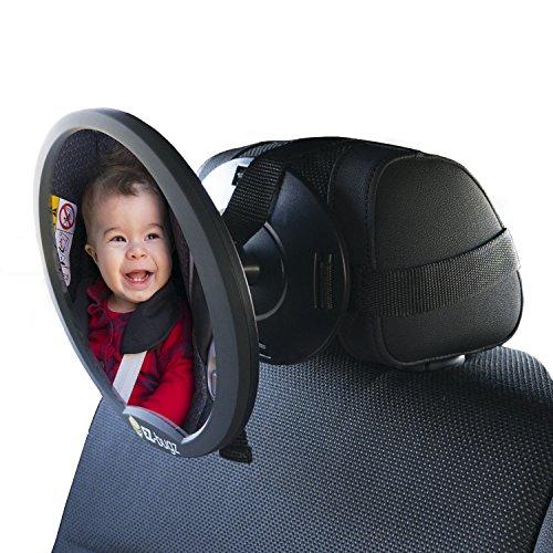 Babyspiegel für Kindersitz & Babyschale - 7