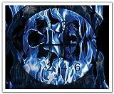 JP London poslt2112ustrip Lite Abnehmbare Wandtattoo Aufkleber Wandbild Blau Hitze Hot Wheels Schalthebel Street Racing, 24x 19.75-inch