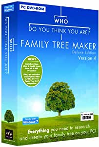Who Do You Think You Are? Family Tree Maker Deluxe Edition Version 4 (PC) New Version