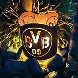 Borussia Dortmund BVB Teelichthalter/Windlicht ** Rost ** BVB-010 Test
