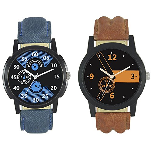 Frida Analog Black Dial Men's @ Womane'sWatch-WCH-FR151511  available at amazon for Rs.199