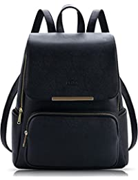 add55aaa76469 Coofit Sacs à Dos Femme Cartable Fille College Sac Dos College Fille en PU  Cuir Sac