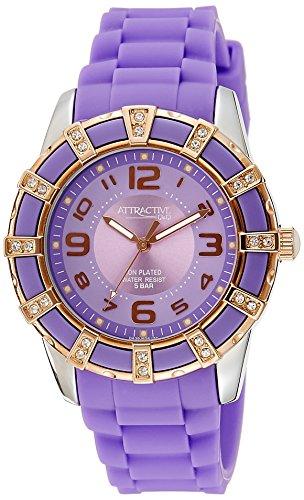 Q&Q Analog Purple Dial Women's Watch - DA39J505Y image