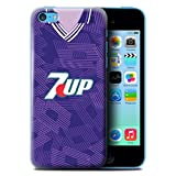 Coque/Etui pour Apple iPhone 5C / Fiorentina Design/Maillot de Football Rétro...