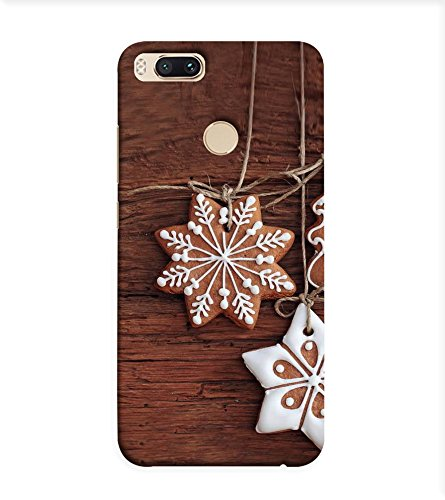 OBOkart Christmas special 3D Hard Polycarbonate (Plastic) Designer Back Case Cover for Xiaomi Mi A1