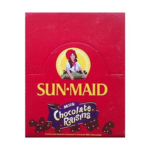 Sun-Maid Raisins lait au chocolat 24 x 50 g