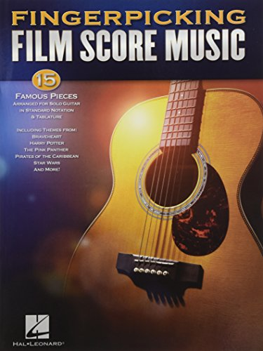 Fingerpicking Film Score Music (Guitar Solo) por Hal Leonard Publishing Corporation