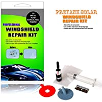 Preyank Solar Resin Windshield Kits for Window Repair, Windscreen Glass Scratch Crack, Polishing and Car Styling Sure Shot!