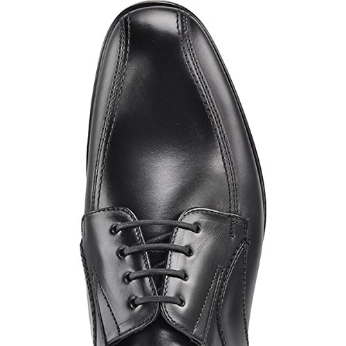 LLOYD 25-864-00 Katan - Extraweit-Business-Schnürschuh - Saragozza Calf Leder (schwarz) - Gummisohle Schwarz