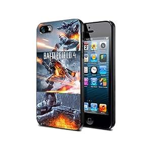 BF07 Battlefield 4 Game Silikon Schutzhülle für iPhone 5c Hülle Silicone Cover Case Black@UTMSHOP