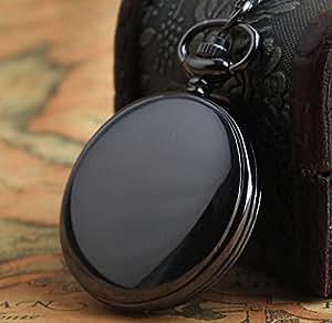 Wzw rétro classique élégant simple montre de poche à quartz, gris