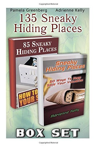 135 Sneaky Hiding Places BOX SET: (secret