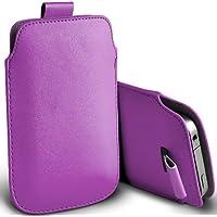 ( Purple ) Orange Miami Protezione Faux Leather Pull pelle