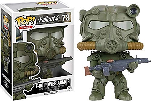 Fallout - Pop Vinyl : Figurine T-60 Green Power Armor Limited Edition (Funko fun8712)