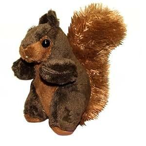 14cm Squirrel Soft Toy - Cuddly Toy Animal