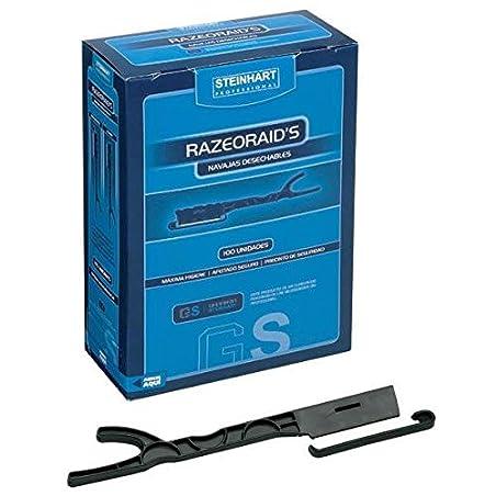 Steinhart Estuche para navajas cuchillas y maquinillas de afeitar 100 Unidades 590 gr