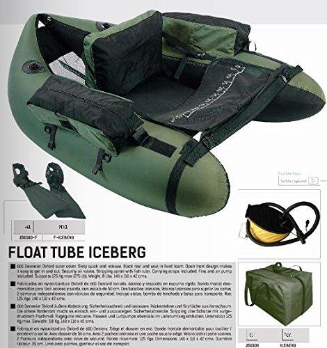 Grauvell Belly Boot Iceberg inkl. Flossen, Pumpe und Tragetasche