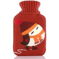 Wärmflaschen, Naturkautschuk und weicher Strickschutz aus Baumwolle, um warm und bequem zu bleiben preisvergleich bei billige-tabletten.eu