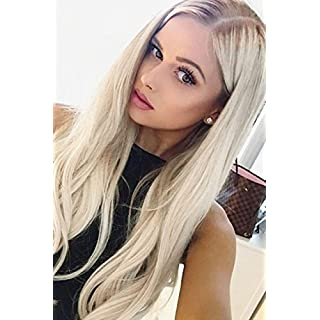 ALICE Lace Front Wigs Blonde Ombre Wig 24