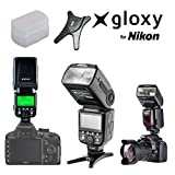 Gloxy TR-985 N TTL  - Flash para Nikon (External, Negro)