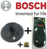 Bosch Original-Ersatz-Bremsscheibe schwarz Schneiden-c/w, 5 Stück, Bosch Durablades Grün, für Bosch ART 23-18Li Kabelloser Trimmer, c/w STANLEY KeyTape Cadbury Schokoriegel