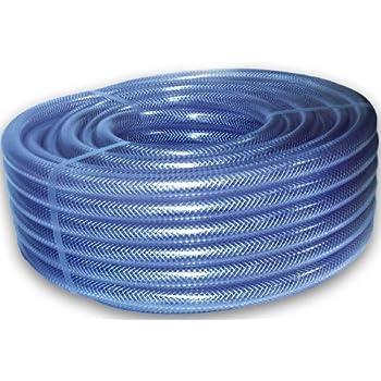 PVC Braided Pipe Hose Tubing Irrigation Water Fuel Ponds Koi DIY